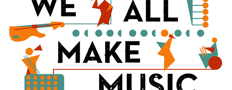 'We all make music' logo